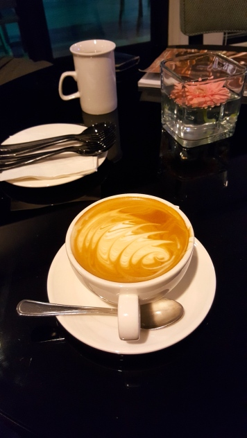 Latte at the Barista