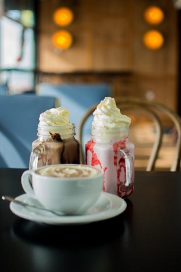 Hot Chocolate and Milkshakes