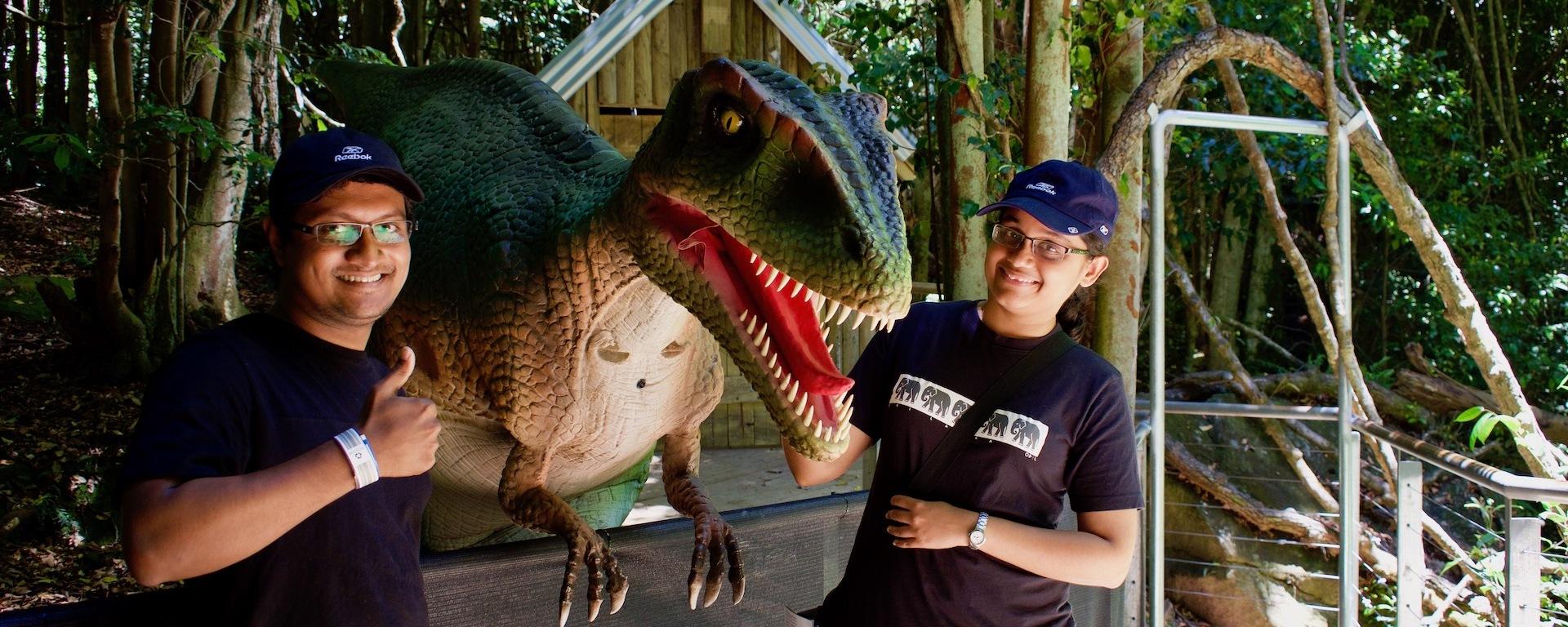 Dinosaur Valley at Scenic World, Sydney
